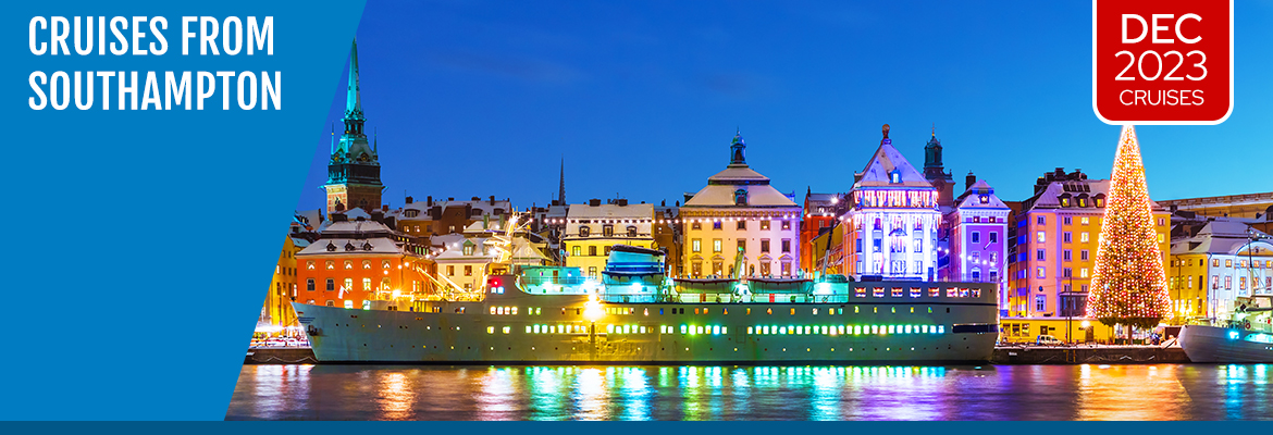 Cruises from Southampton in December 2023