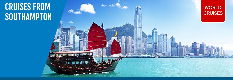World Cruises from Southampton