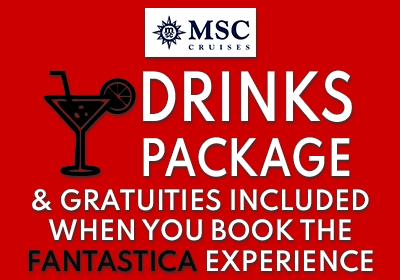 MSC Cruises Drinks Offer