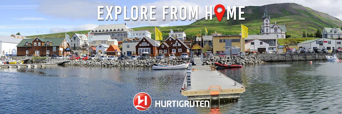 Hurtigruten Start Adventures from Liverpool & Portsmouth