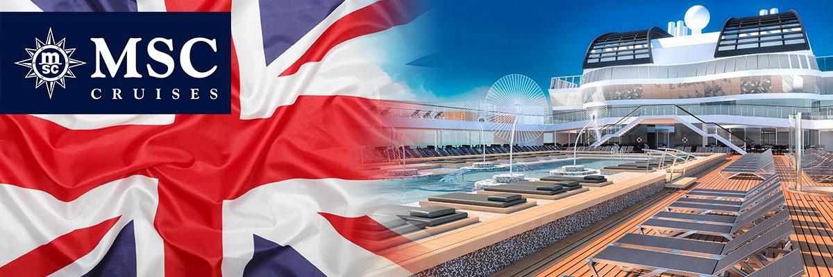 MSC Cruises' Flagship MSC Virtuosa to perform her inaugural season around the UK this summer!