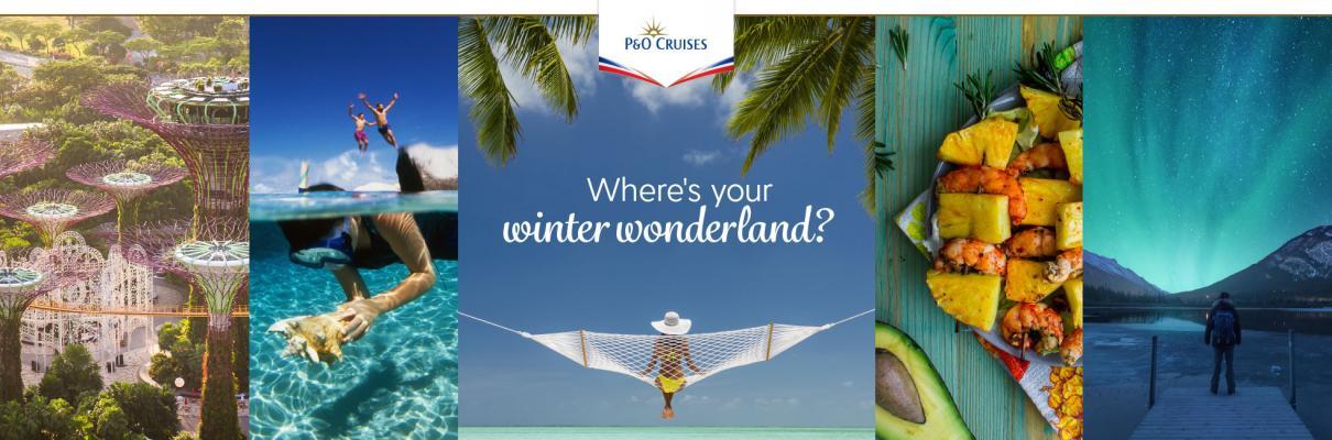 P&O Cruises – Winter 2022/23 and World Cruise 2023