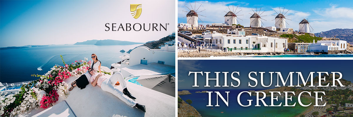 Seabourn to offer new 7-night Greek Islands Cruises in Summer 2021