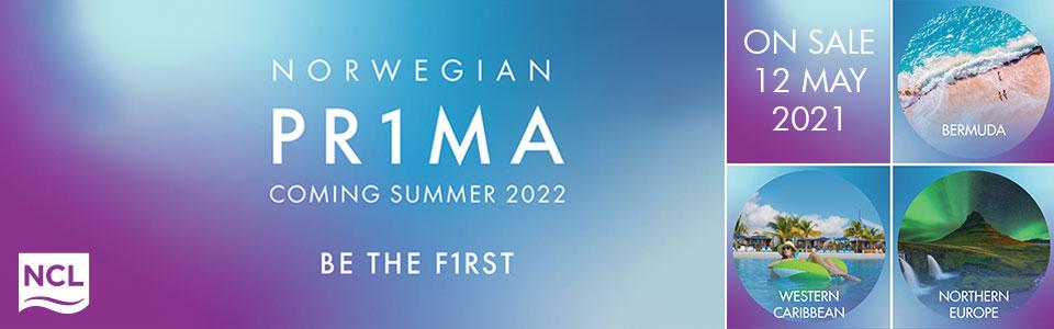 Brand New Ship Norwegian Prima