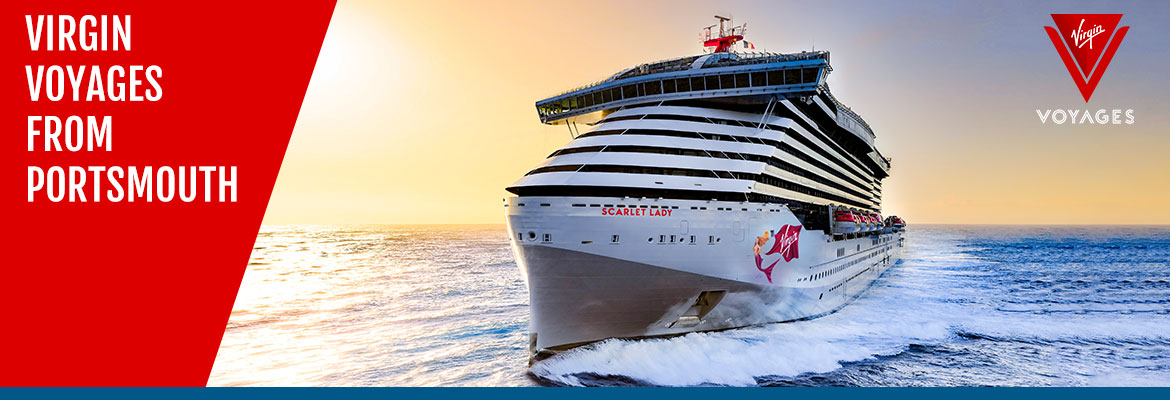Virgin Voyages Cruises from Portsmouth