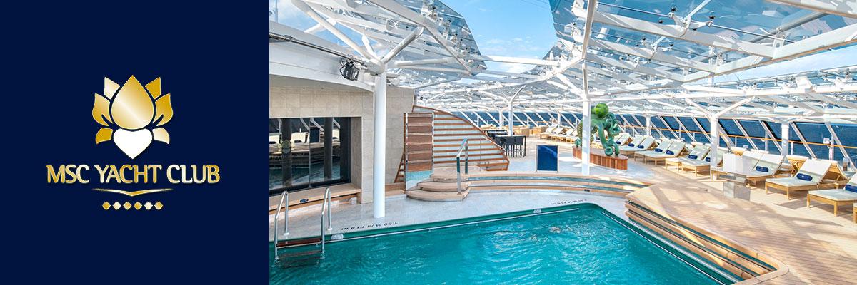 MSC Yacht Club Cruises From Southampton