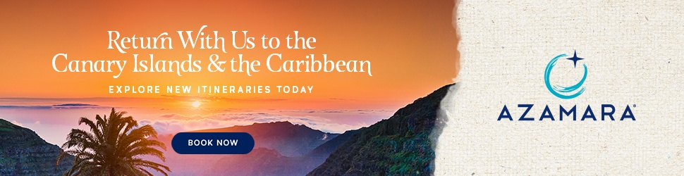Azamara return to the Canaries & Caribbean this winter