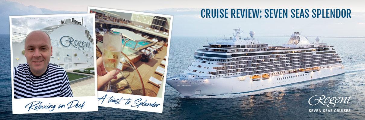 Richard Cross experiences Seven Seas Splendor